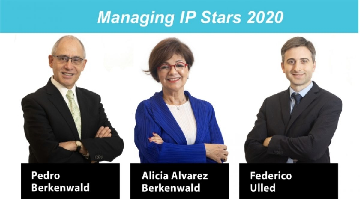 Three of our Partners recognized as IP Stars 2020 by Managing IP