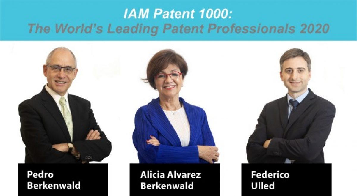 IAM Patent 1000: The World's Leading Patent Professionals 2020