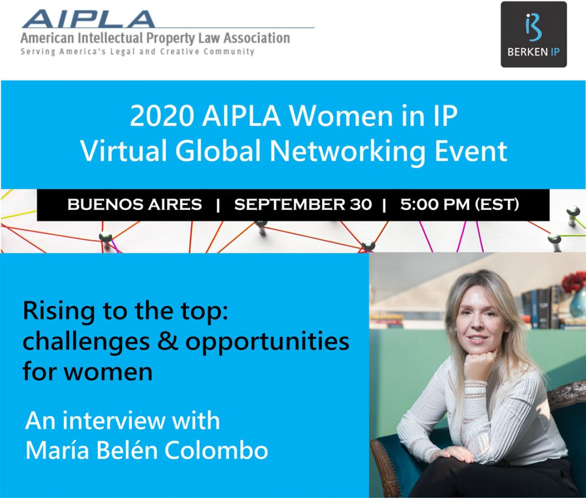 Evento Women in IP Virtual Global Networking 2020