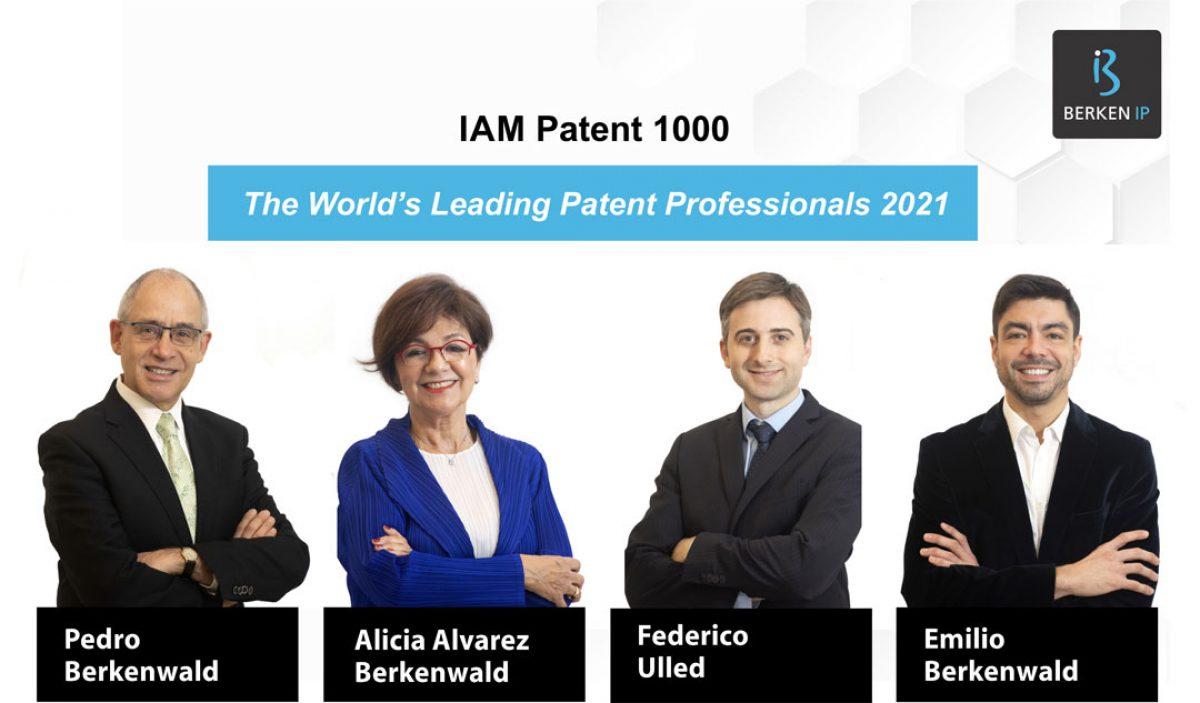 IAM Patent 1000: The World's Leading Patent Professionals 2021
